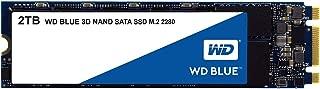 WD Blue 3D NAND 2TB Internal PC SSD - SATA III 6 Gb/s, M.2 2280, Up to 560 MB/s - WDS200T2B0B