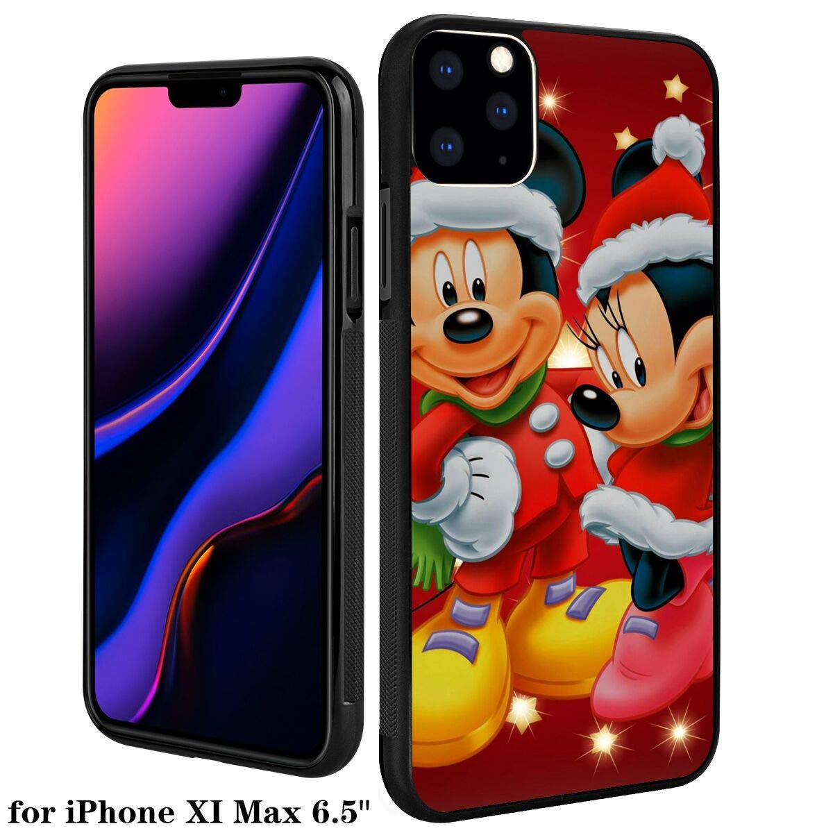 DISNEY COLLECTION PC and TPU Case iPhone 11 Pro Max 6.5 Inch Christmas Disney Mickey Mause Snow Winter Xmas