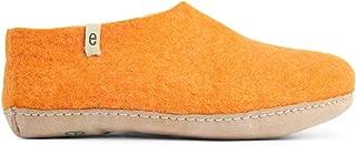 House Slippers for Women Man- Bedroom - 100% Sheep Wool Handmade Natural Sheep Wool Egos Shoe Classic
