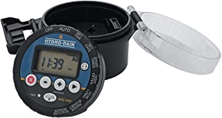 Hydro-Rain 4020 4-Station Battery-Powered Controller with 1 Solenoid
