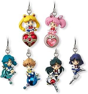 Bandai Shokugan Twinkle Dolly 2 Sailor Moon Action Figure (Set of 6)