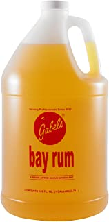 GABELS Bay Rum After Shave Lotion Made with Original Bay Rum Oils 1 Gallon