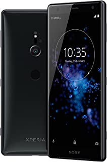 Sony Xperia XZ2 - 6GB / 64GB 5.7-inches LTE Dual SIM Factory Unlocked - International Stock No Warranty (Liquid Black)