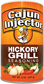 Cajun Injector Hickory Grill Shake Seasoning 8oz Canister (Pack of 3) Quick Shake Spice