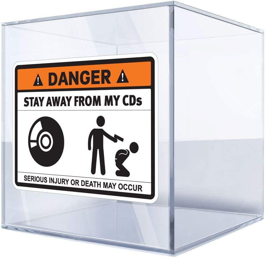Decal Sticker Danger Stay Away shop from Popular My Cds 4 14 Sign 20 X Funny