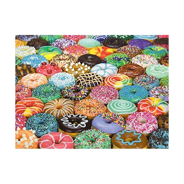 1000 Piece Puzzle for Adults: Difficult Donuts Jigsaw Puzzle