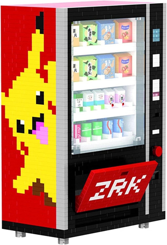BAIDEFENG Micro Ladrillos, Máquina expendedora de Bebidas Modelo 3D de Dibujos Animados, Mini DIY Block Block Toy Creativo DIY Regalo Toys Cumpleaños para niños, 2560 PCS