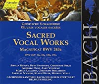 Bach: Sacred Vocal Works - Magnificat in E flat BWV 243a, etc (Edition Bachakademie Vol 140) /Rilling by Johann Sebastian Bach (2000-07-03)