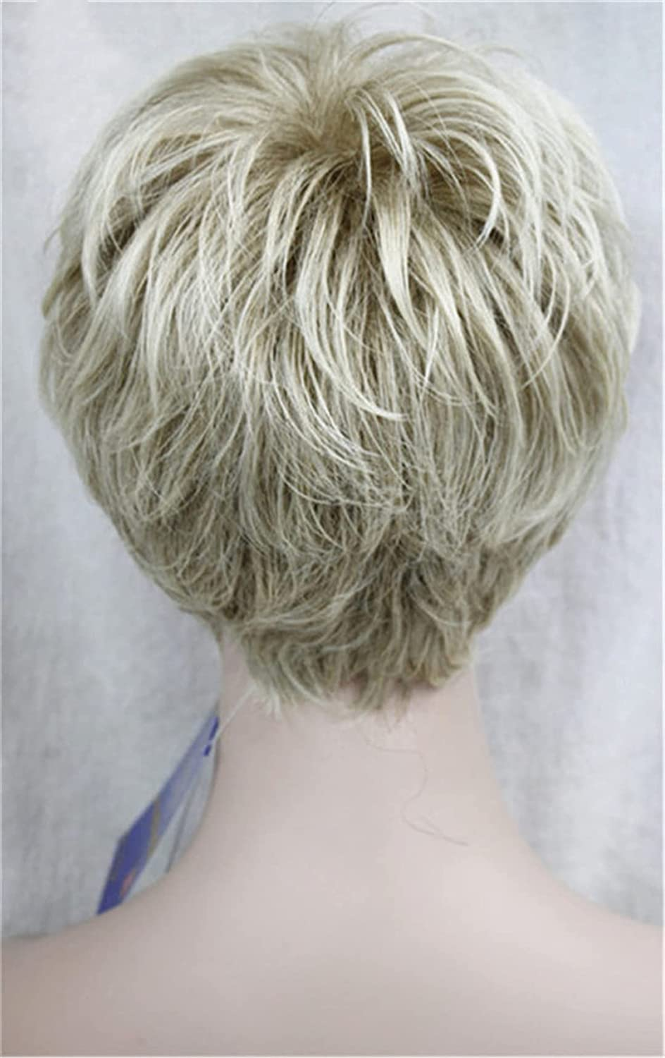 Short Layered Grey Silver Shag Max 42% OFF Classic 15 Full online shopping Cap Wig Synthetic