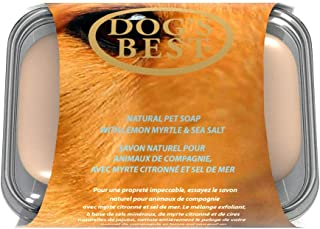 Dog's Best Natural Lemon Myrtle & Sea Salt Bar Soap 100g | Natural Exfoliating Agents | Pet Odour Eliminator & Deodoriser ...