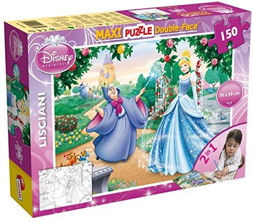 Liscianigiochi Puzzle de Cenicienta Maxi 150 de doble cara (46720)