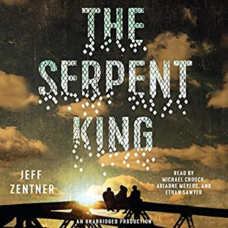 The Serpent King                   By:                                                                                                                                 Jeff Zentner                               Narrated by:                                                                                                                                 Michael Crouch,                                                                                        Ariadne Meyers,                                                                                        Ethan Sawyer                      Length: 9 hrs and 7 mins     308 ratings     Overall 4.5