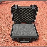 Maletín de herramientas Caja de herramientas Maleta resistente a los choques sellado a prueba de agua caja de plástico Equipo Cámara de caja caja del medidor Caja Con precortado de espuma