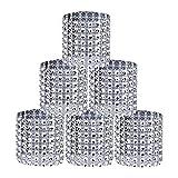ZEEREE 30 Piezas Servilletero de Diamantes de imitación de Servilletero de...