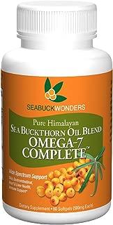 Sea Buckthorn Oil Blend, Omega-7 Complete, 60-Softgels (500mg Each)