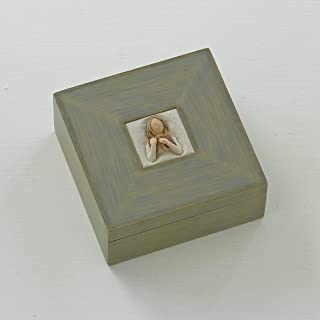 Willow Tree Love of Learning, sculpted hand-painted memory box