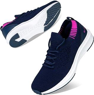 Kyopp Basket Femme Chaussures Sport Utilisé pour la Fitness Running Footing Respirantes Confort Chaussette Chaussures 36E...