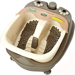 Qing MEI Foot Bath Split-Type Automatic Foot Vibration Massager Thermostatic Electric Heating Foot Bath Barrel Home Foot Massage Machine