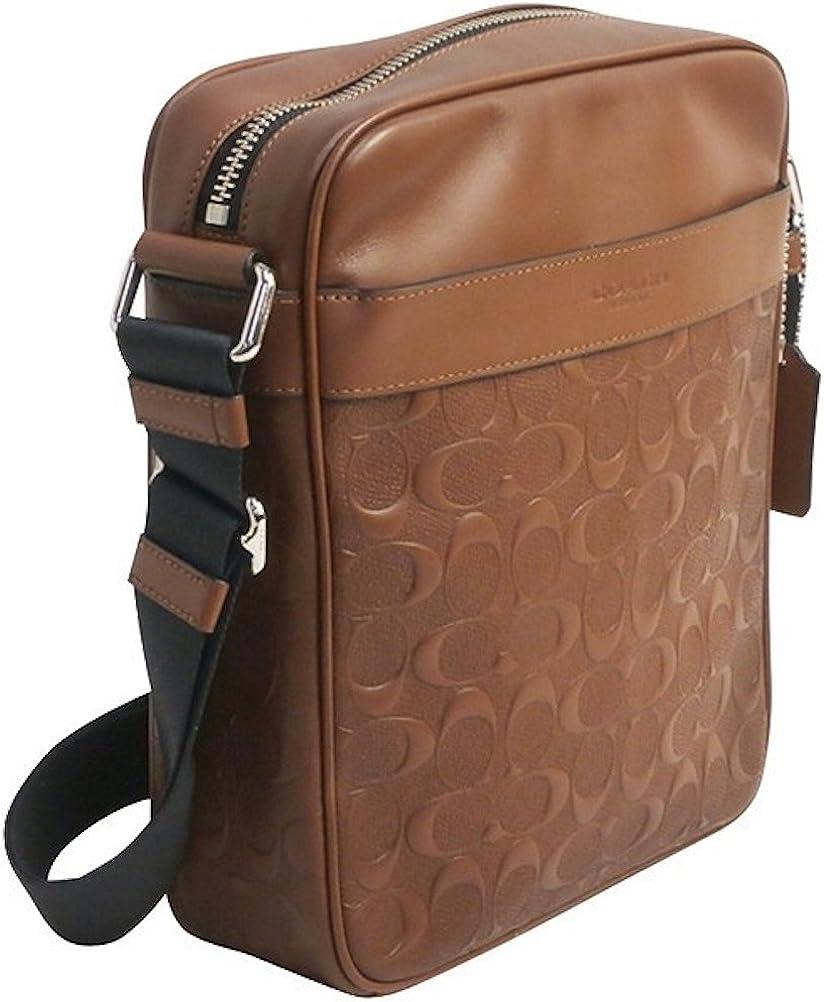 Coach Selling Men's Charles Flight Bag SALENEW very popular Saddle