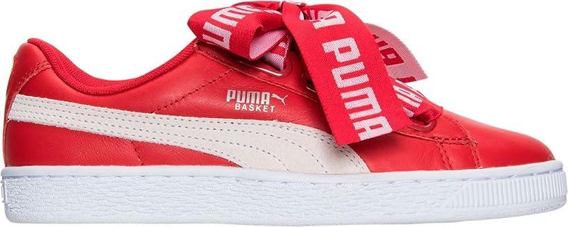 スーパー凍結制限されたPUMA(プーマ) シューズ スニーカー Women's Puma Basket Heart DE Casual Shoe Toreador/W 2ev [並行輸入品]