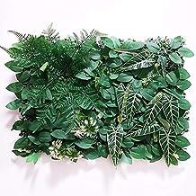 1pc 40 * 60 cm kunstgrassen planten muurpaneel nep gazon blad hek kunstmatige gebladerte voor thuis tuin muur decor groen...