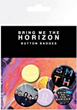 Unisex-adults Official Bring Me The Horizon Badge Set (Pack of 6)