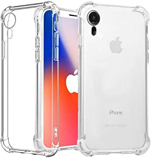 T Tersely Case for iPhone XR, Soft Clear Crystal Flexible Ultra Slim TPU Bumper Case Cover for Apple iPhone XR (6.1 INCH) ...