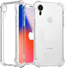 TERSELY iPhone XR Case, Soft Clear Crystal Flexible Ultra Slim TPU Bumper Case Cover for Apple iPhone XR (6.1 INCH) Case with Shockproof Protective Cushion Corner [Compatible with Wireless Charger]