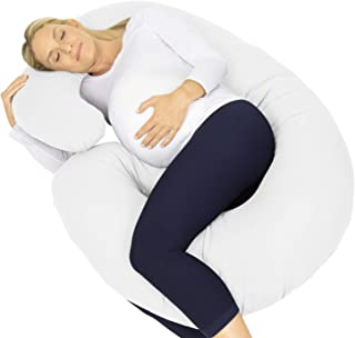 Xtra-Comfort Maternity Pillow - Full Body C Shaped Side...