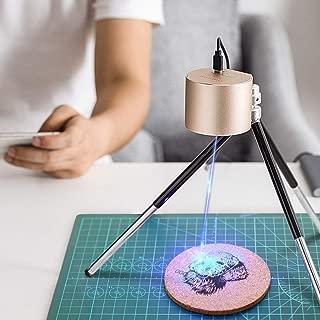 Engraving Machine Mini Laser Engraver, Desktop Engraving Machine,Mini Handheld Etcher Printer Cutter Plotter Logo Picture Marking for DIY Logo Design Tool
