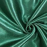 Fabulous Fabrics Satin grün, Uni, 148cm breit – Satin