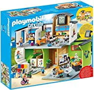 Playmobil City Life 9453 Furnished School Building for Children Ages 4 -10 years