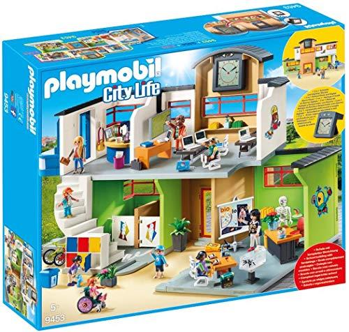Playmobil City Life 9453 Grande École avec Installations, de