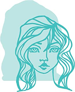 Spellbinders JDD-030 Tousled from Artomology by Jane Davenport Etched/Wafer Thin Dies Teal