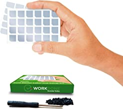 WorkDone - Front Sticker Label and Setup KIT - 12 Drive Caddy Labels - Compatible for 11-14th Gen Dell PowerEdge Servers - 24 Selected Strong Installation Screws - Screwdriver - Learn from ebook