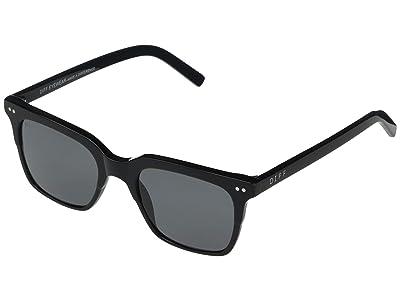 DIFF Eyewear Billie (Black/Grey) Fashion Sunglasses
