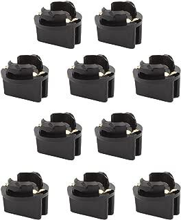 TOMALL T10 194 168 Socket for Instrument Panel Dash Light Car Gauge Cluster Bulbs Base(Pack of 10)