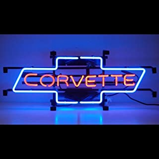 Neonetics 5CORBO Cars and Motorcycles Corvette Bowtie Neon Sign