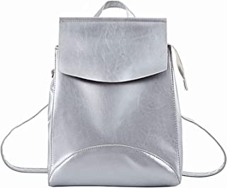 Fashion Women Backpack Pu-Leather Backpacks for Teenage Girls Female School Aancy Shoulder Bag