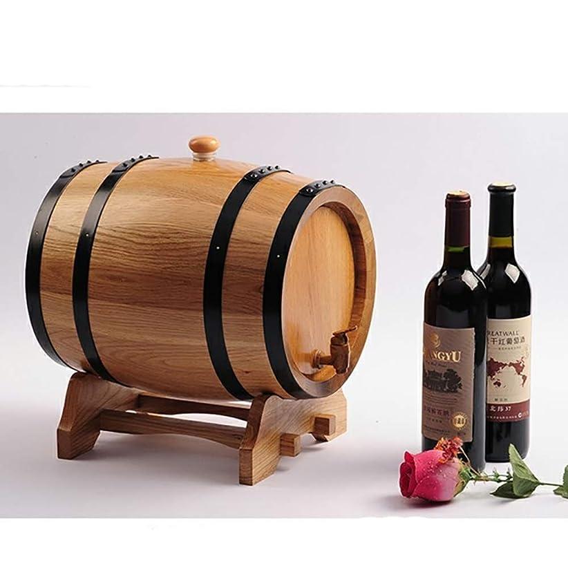 海軍人差し指直接結婚式の写真の小道具 ワイン樽、オーク樽ワイン樽、自作ワイン樽、ウイスキー3L、5L、10L、20L 装飾ワイン樽 (Color : 20L, Material : Log color)