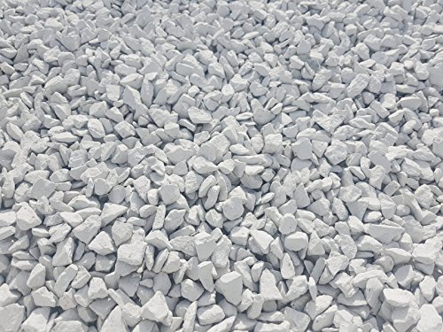 RockinColour White Mist 18kg decorative garden stone