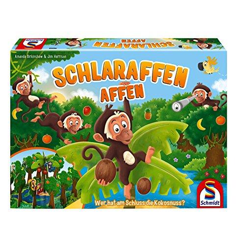 Schmidt Spiele 40552 Schlaraffen Affen, Kinderspiel