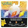 Bizak Pokémon - Pack de 3 Cristales Z-Ring, Normal/Lucha/Electricidad 30699210 de Bizak
