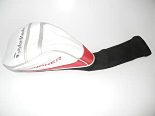 1 X New TaylorMade AeroBurner Driver Headcover,White/Red