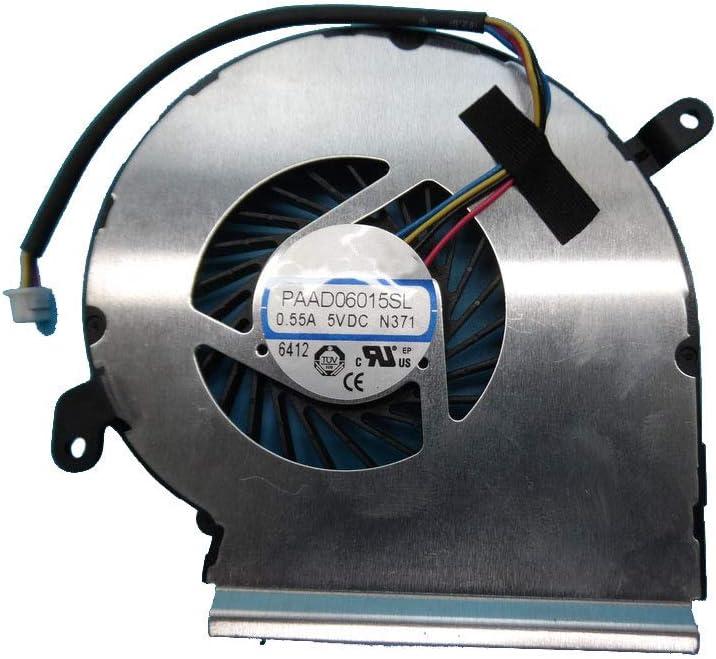 NEW before selling Laptop GPU Boston Mall Fan for MSI GE62 GE72 GL62 PAAD06015SL-N371 PE70 PE60