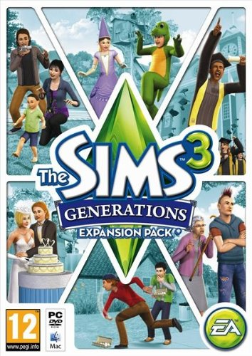 Electronic Arts - MXI09208053 - PC The Sims 3 Generations