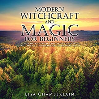 Modern Witchcraft and Magic for Beginners cover art