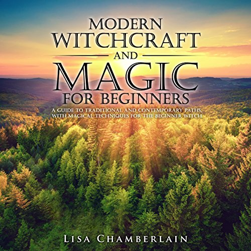 Modern Witchcraft and Magic for Beginners audiobook cover art