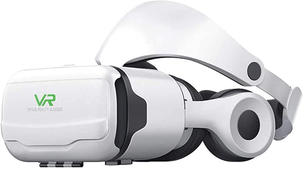 Occhiali vr 3d, visore realtà virtuale, headset 3d film glasses per iphone android smartphones 995-554-802