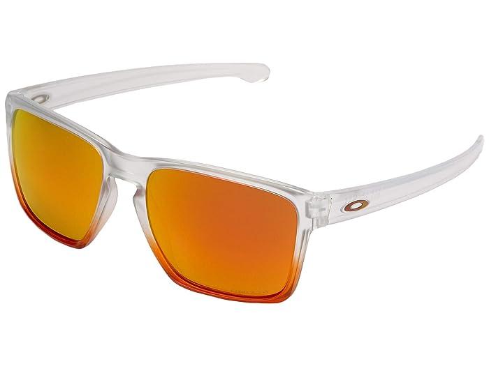 Oakley Sliver XL (Ruby Mist w/ Prizm Ruby) Fashion Sunglasses